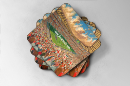 twickenham Coaster set of four